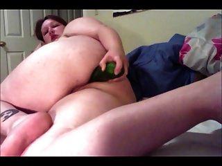 grasa gorda engorga pepino grueso