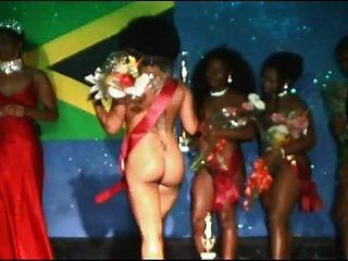 miss negro desnudo