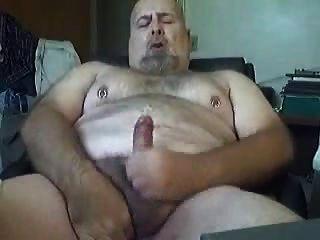chubby, papá, oso, sacudidas, 2