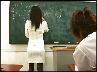 profesor japonés caliente