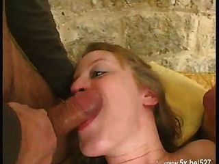 lilie doble y follada anal