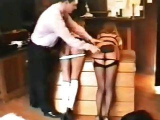 varias chicas castigadas