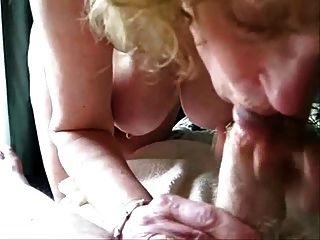 mujer madura chupar mi polla