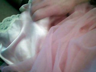 cummin en satén rosa