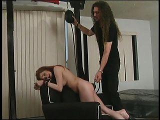 puta con un estante decente enlazado antes de soplar a un chico