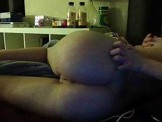 muy caliente pelirroja ama su coño y culo