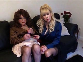 madame c le dice a Angélica cómo se usará el tapón vibratorio