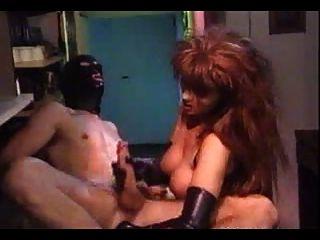 guante de goma femdom fisting handjob (sin audio)