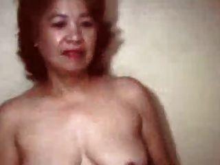 abuelita china muy vieja