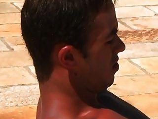 chicos sexy caliente jodido en la piscina
