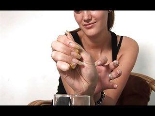 más sexy de las uñas naturales de larga duración