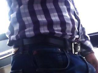 str8 bulge en el autobús