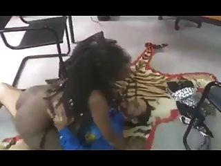 ébano, belleza, tomado, anally, tigre, alfombra