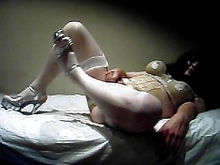transik tacones altos y medias blancas 1