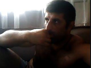 masturbándose turco oso natural turco volkan intro 1
