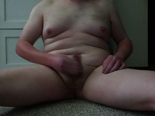 chubby chico joven blanco sacudidas y cumming