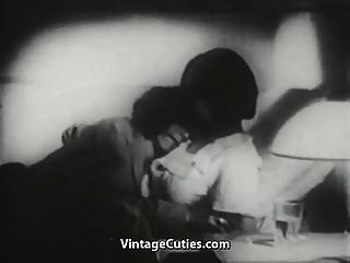 santa claus siempre sabe lo que la chica quiere (vintage de los años 1940)