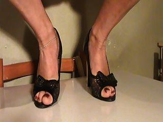 pies sudor en los zapatos