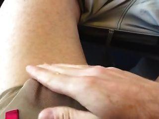 str8 papá joder en el tren del suburbio