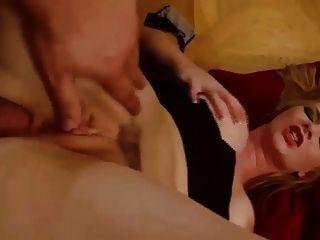 busty rubia babe obtener su culo follada duro