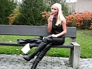 fumar fetiche monique vegas 1 #by smoker58
