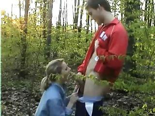 sexo amateur en los bosques