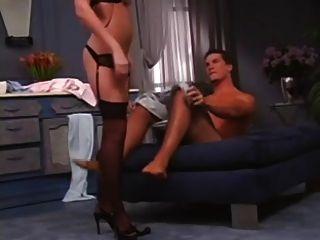 sexy pelirroja agrada a su novio
