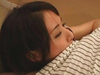 blanqueada: la chica japonesa se crió por la cremita bwc blanco polla