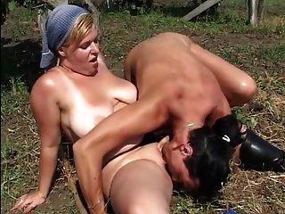 chubby sexy chick obtener follada en la granja ttt