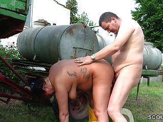 mutti und papa treiben es salvaje en el dem bauernhof