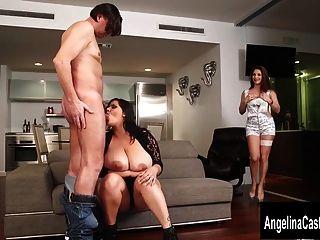 cubano italiano porno trio con angelina castro