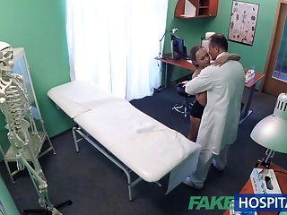 fakehospital buen sexo duro con el paciente después del terremoto