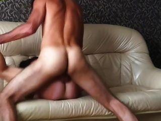 casero apasionado sexo anal ruso pareja
