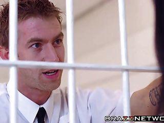 prisión, bebé, tener, áspero, anal, golpeando