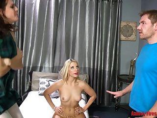 mamá vs hija sexo fuera (familia tabú moderna)