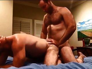dos hombres peludos follando y cumming