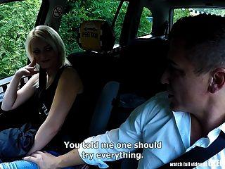increíble realidad extraños voyeurs viendo taxi checo