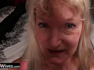 usuales blonde rubia abuelita cindy solo play