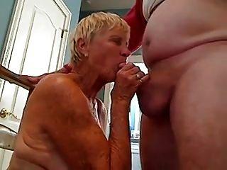 abuelita chupar dick