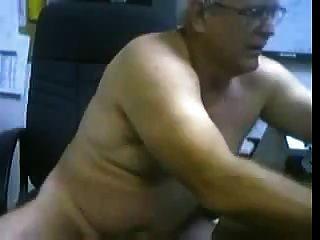 papá caliente en la cámara