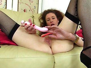 madura, flaco, madre, empapado, mojado, vagina
