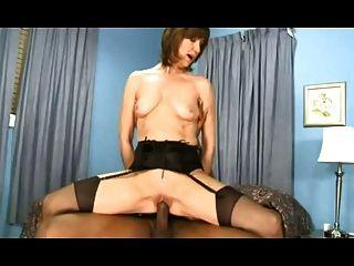 caliente esposa madura en medias paseos bbc
