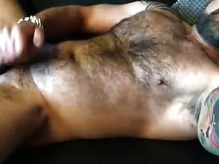 caliente peludo músculo papá joder por mí y corridas