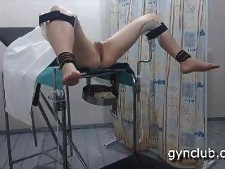 orgasmo en la silla ginecológica