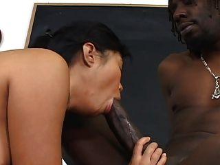 chica asiática