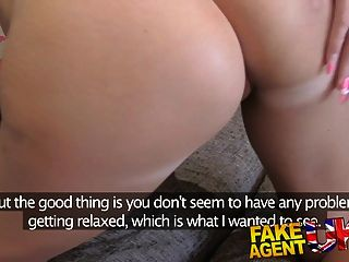fakeagentuk petite uk babe trata primera vez anal