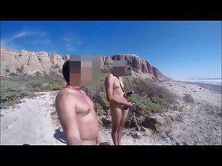 bronha com primo hetero en la playa parte 2