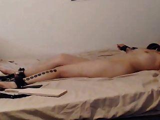 orgasmos en vivo tortura con ohmibod parte 1
