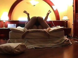 amateur korean pareja follando en el hotel