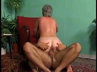 bbw abuelita anal con el pelo gris (vintage)